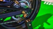 Benelli TNT 25 accessories swingarm sliders at Auto Expo 2016