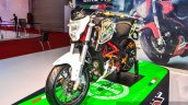 Benelli TNT 25 with accessories at Auto Expo 2016