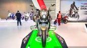 Benelli TNT 600GT Nero (black) front at Auto Expo 2016