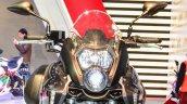 Benelli TNT 600GT Nero (black) headlamp at Auto Expo 2016