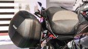 Benelli TNT 600GT Nero (black) pannier at Auto Expo 2016