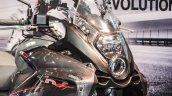 Benelli TNT 600GT Nero (black) windscreen at Auto Expo 2016
