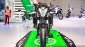 Benelli TNT 600i Nero (black) front at Auto Expo 2016