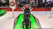 Benelli TNT 600i Nero (black) rear at Auto Expo 2016