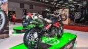 Benelli TNT 600i Nero (black) rear quarter at Auto Expo 2016