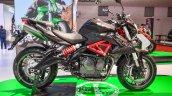 Benelli TNT 600i Nero (black) side at Auto Expo 2016