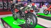 Benelli TNT 600i Nero (black) swingarm at Auto Expo 2016