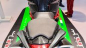Benelli TNT 600i Nero (black) twin exhaust at Auto Expo 2016