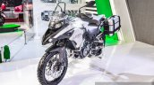 Benelli TRK 502 front quarter at Auto Expo 2016