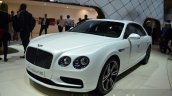 Bentley Flying Spur V8 S front three quarter at the 2016 Geneva Motor Show Live