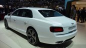 Bentley Flying Spur V8 S rear three quarter at the 2016 Geneva Motor Show Live