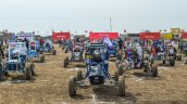 COEP Nemesis Racing on Grid at Baja 2016