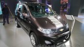 Chevrolet Enjoy special edition front left three quarter at 2016 Auto Expo
