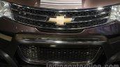 Chevrolet Enjoy special edition grille at 2016 Auto Expo