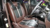 Chevrolet Enjoy special edition seat embroidery at 2016 Auto Expo