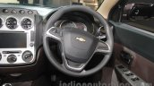 Chevrolet Enjoy special edition steering wheel at 2016 Auto Expo