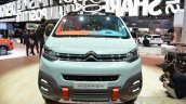 Citroen SpaceTourer Hyphen front at the 2016 Geneva Motor Show Live