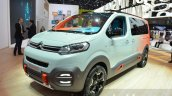Citroen SpaceTourer Hyphen headlamp grille bumper at the 2016 Geneva Motor Show Live