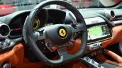 Ferrari GTC4Lusso steering wheel at the 2016 Geneva Motor Show Live