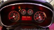 Fiat Avventura Urban Cross instrument cluster at Auto Expo 2016
