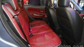 Fiat Avventura Urban Cross rear seat at Auto Expo 2016