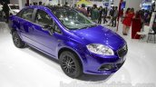 Fiat Linea 125s front three quarters at Auto Expo 2016