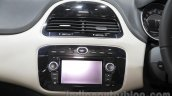Fiat Linea 125s infotainment system at Auto Expo 2016