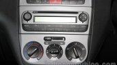 Fiat Punto Pure aircon dials at Auto Expo 2016