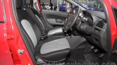 Fiat Punto Pure front seats at Auto Expo 2016