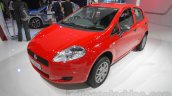 Fiat Punto Pure front three quarters at Auto Expo 2016