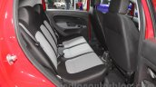 Fiat Punto Pure rear seat at Auto Expo 2016