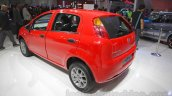 Fiat Punto Pure rear three quarters at Auto Expo 2016