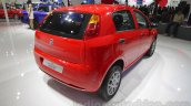 Fiat Punto Pure rear three quarters right at Auto Expo 2016