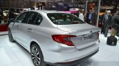 Fiat Tipo rear three quarters left at Geneva Motor Show 2016