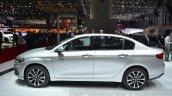 Fiat Tipo side profile at Geneva Motor Show 2016