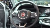 Fiat Tipo steering wheel at Geneva Motor Show 2016