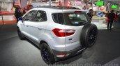 Ford EcoSport Customised rear three quarter at Auto Expo 2016