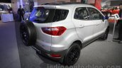 Ford EcoSport Customised rear three quarter right at Auto Expo 2016