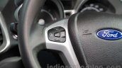 Ford EcoSport Customised steering controls at Auto Expo 2016