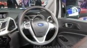 Ford EcoSport Customised steering detail at Auto Expo 2016