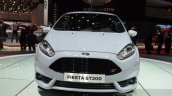 Ford Fiesta ST200 front at the Geneva Motor Show Live