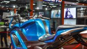 Hero HX250R blue body panels at Auto Expo 2016