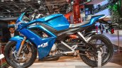 Hero HX250R blue fairing at Auto Expo 2016