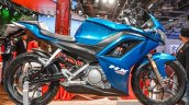 Hero HX250R blue side at Auto Expo 2016