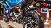 Hero HX250R blue tail hanger at Auto Expo 2016