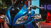 Hero HX250R blue twin headlamp at Auto Expo 2016