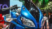 Hero HX250R blue visor at Auto Expo 2016