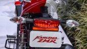 Hero Karizma ZMR red and white rear at Auto Expo 2016