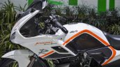 Hero Karizma white and orange dual tone at Auto Expo 2016