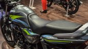 Hero Splendor Pro grey green seat at Auto Expo 2016
